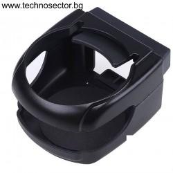Стойка TECHNOSECTOR за чаша, кен или бутилка за вентилаторната решетка на кола