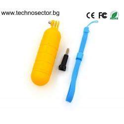 Плувка-ръкохватка за всички модели екшън камери - Топ цена от Technosector.bg