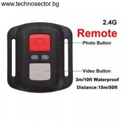 Екшън камера GoPlus H163CR, 4K ULTRA HD, 170 градуса, WiFI, HDMI, micro USB, Водоустойчивост, Включени аксесоари + дистанционно