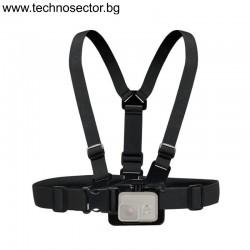 Универсална стойка за гърди GoPlus за захващане на екшън камери - Топ цена от Technosector.bg