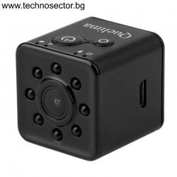 Преносима водоустойчива мини камера Quelima SQ13, с Wi-Fi, HD 1080P, Car DVR, Екшън камера