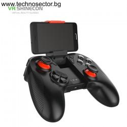 Безжичен Bluetooth геймпад Shinecon SC-B04 за смартфони, таблети, компютър, телевизор, тв бокс и други устройства