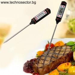 Кухненски дигитален термометър SIAPRO, диапазон от -50 °C до +300 °C, точност 0.1°С\°F
