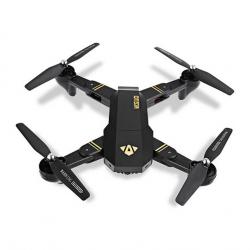 Сгъваем дрон VISUO XS809HW, WIFI FPV, 2MP широкоъгълна камера, G сензор