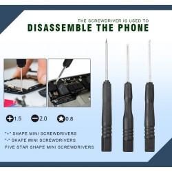 Комплект инструменти 33 в 1 за ремонт на телефони и таблети