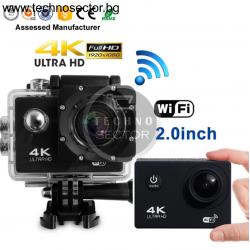 Спортна екшън камера GoPlus RERAND, 16 MP, 4K с WIFI, 170 градуса