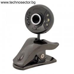 Уеб камера, Модел TS-32, USB, С вграден микрофон, 3.5mm