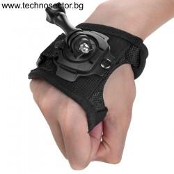 Универсална стойка за ръка тип ръкавица за монтаж на спортни видеокамери - Топ цена от Technosector.bg